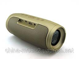 JBL Charge4 E4 16W копия, Bluetooth колонка с FM MP3, золотая, фото 2