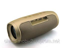 JBL Charge4 E4 16W копия, Bluetooth колонка с FM MP3, золотая, фото 3