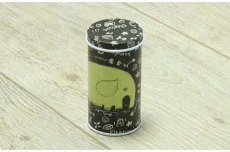 Маленькая банка для чая, кофе, соли, сахара, 25г, Дискавери Слон, фото 2