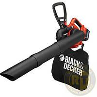 Аккумуляторный садовый пылесос с измельчителем BLACK+DECKER GWC3600L20
