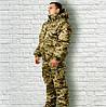 Зимний костюм камуфляж с капюшоном Пиксель ЗСУ ММ-14 ЗСУ