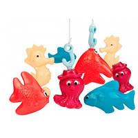 Магнитная рыбалка Делюкс, игровой набор (2 удочки, 8 морских животных), Battat