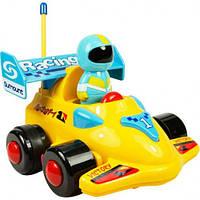 Моя первая гоночная машина на Р/У (желтая), BeBeLino 58040-1
