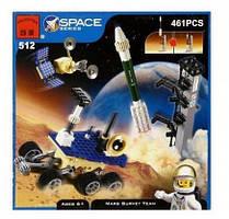 Конструктор Brick 512 Космос Команда покорителей Марса, 461 деталей