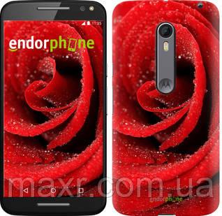 Чехол на Motorola Moto X Style Красная роза