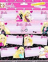 Наклейки для тетрадей Барби