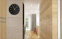Часы настенные металлические в стиле лофт - GOLDEN NIGHT 30, фото 3