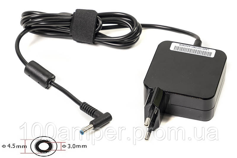 Блок питания для ноутбуков PowerPlant HP 220V, 19.5V 45W 2.31A (4.5*3.0) wall mount