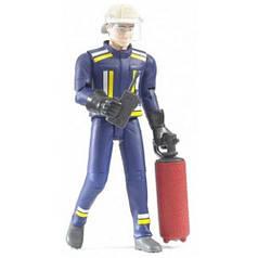 Фигурка пожарного, 11 см, Bruder 60100