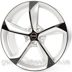 Диски Borbet S цвет Silver Black Glossy параметры 8.5J x 19'' 5 x 112 ET 35