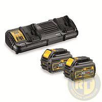 Зарядное устройство + 2 аккумулятора XR FLEXVOLT DeWALT DCB132T2