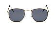 Солнцезащитные очки женские оправа металл (золотая), фото 4