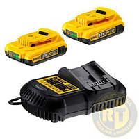 Зарядное устройство и 2 аккумулятора DCB183 2Ач DeWALT DCB115D2