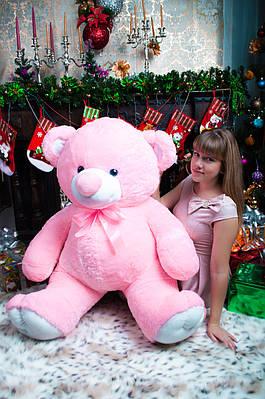 """Плюшевый мишка """"Томи"""", розовый, 160 см."""