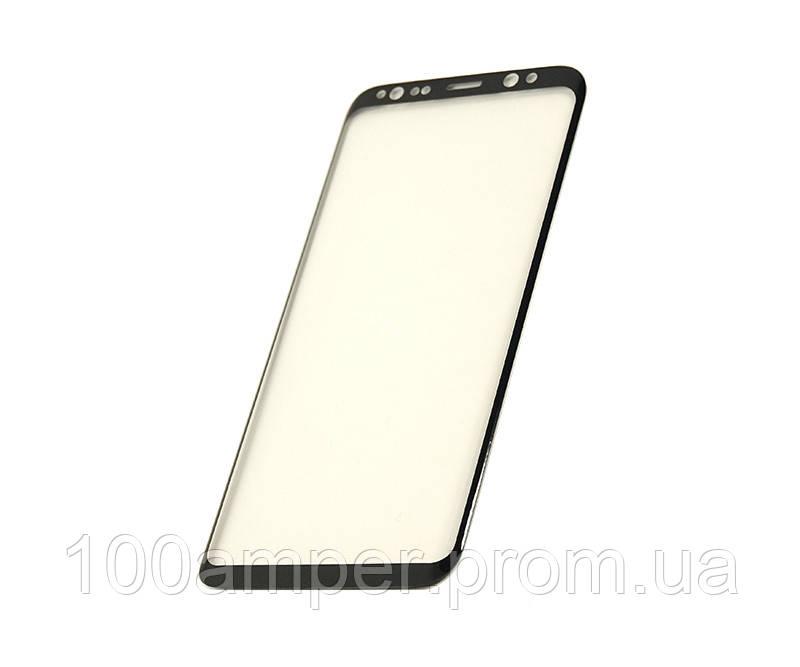 Защитное стекло 3D PowerPlant для Samsung S8 Black
