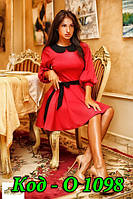 Платье женское оптом и в розницу с поясом