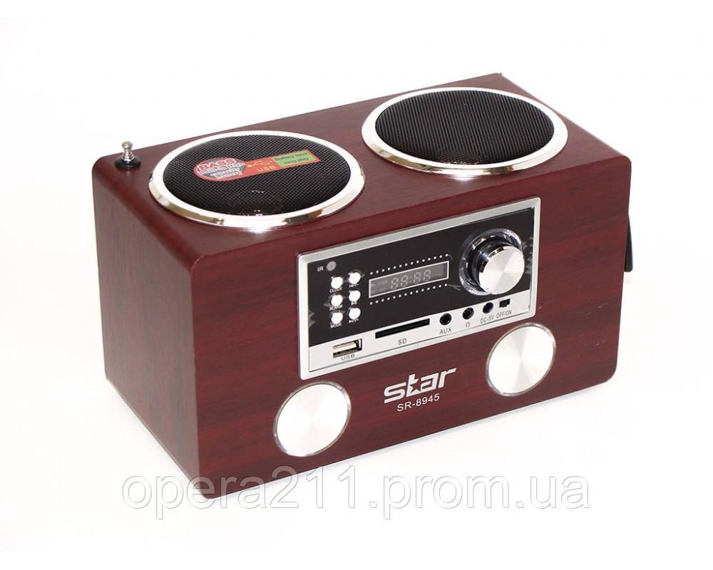 Портативные MP3 колонки  USB SD карт FM Star 8945