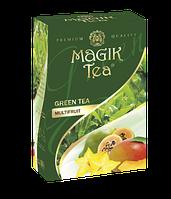 Зелений листовий чай «Magik Tea Multifruit», 100г