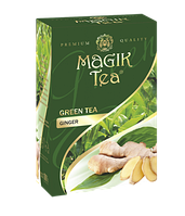 Зелений листовий чай «Magik Tea Ginger», 100г