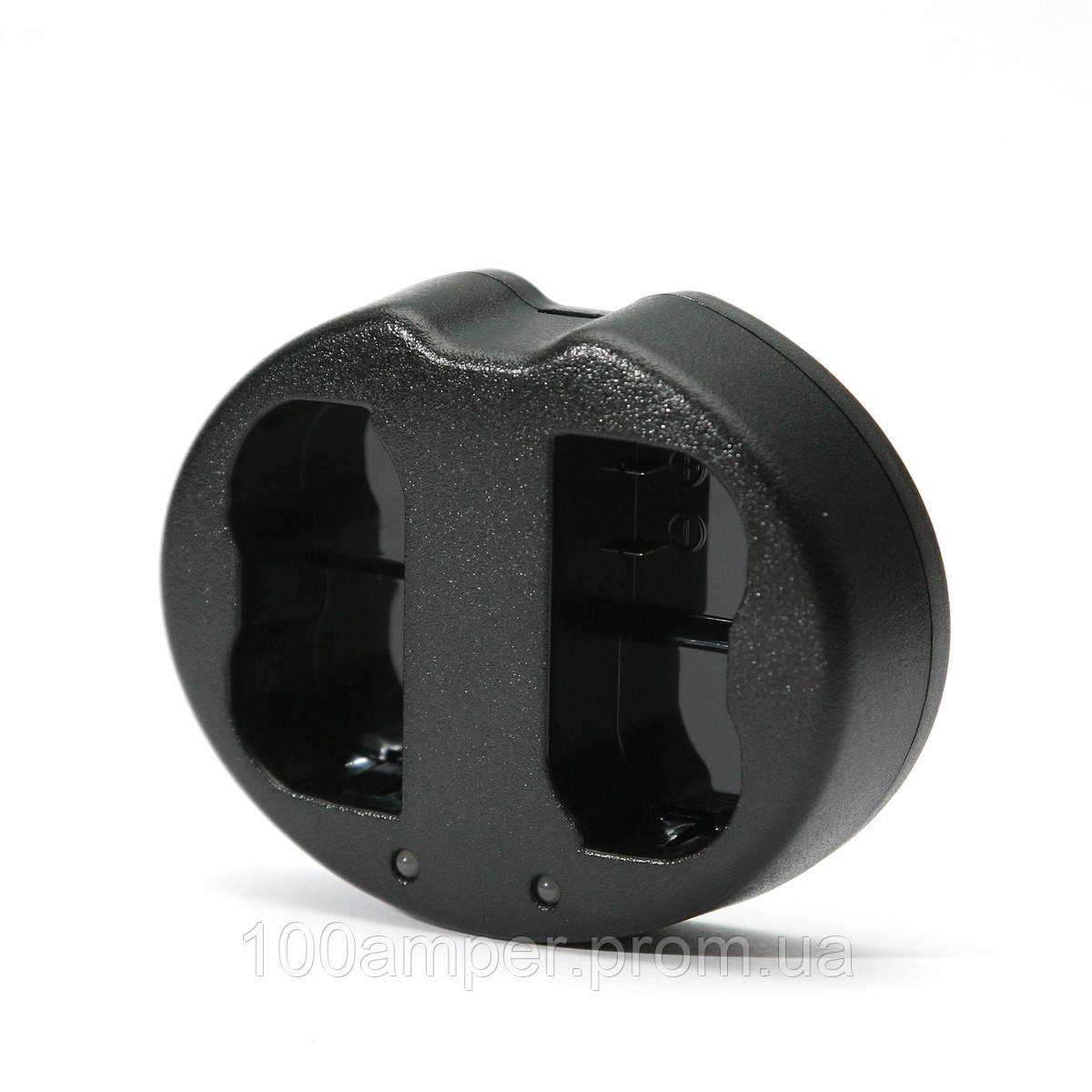 Зарядное устройство PowerPlant Dual Nikon EN-EL14 для двух аккумуляторов
