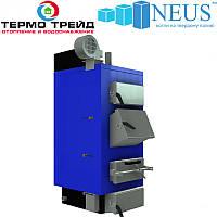 Котел твердотопливный Неус-Вичлаз 13 кВт, сталь 5 мм, доставка бесплатно