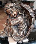 Статуэтка ангел купить. Ангел из вибробетона №4  34 см, фото 5