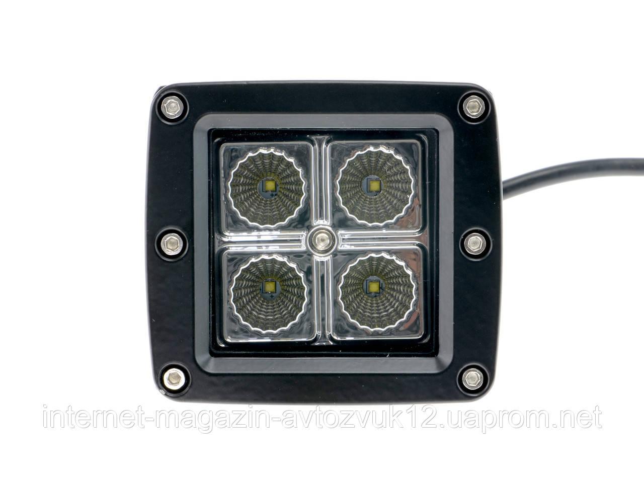 Светодиодная LED-Фара WL-101 12W CREE4 ближнего света