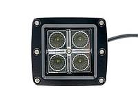Светодиодная LED-Фара WL-101 12W CREE4 ближнего света, фото 1