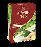 Чорний листовий чай «Magik Tea Ginger», 100г