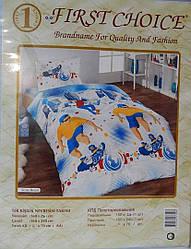 Комплект постельного белья First choice полуторный 2