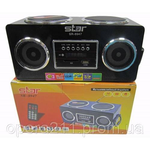Портативные MP3 колонки USB SD FM приемник  Star 8947