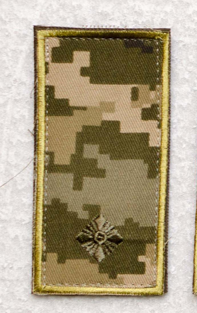 Погон 2017 пиксель младший лейтенант