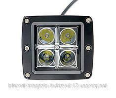 Светодиодная LED-Фара WL-102 12W CREE4 дальнего света