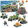 Конструктор Bela 10641 База исследователей вулканов (Lego City 60124) 860 дет.