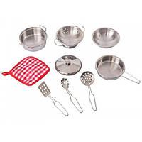 Посуда, игровой набор, 9 элементов, Goki