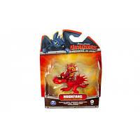 Кривоклык в боевой раскраске, (6 см), Как приручить дракона, Spin Master