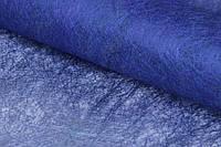 """Флизелиновая бумага """"Epigaea"""" для декора, синяя, длина 70см, ширина 50см, Бумага для упаковки подарков, Бумага для рукоделия"""