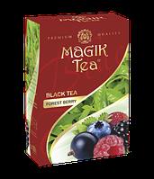Чорний листовий чай «Magik Tea Forest Berries», 100г
