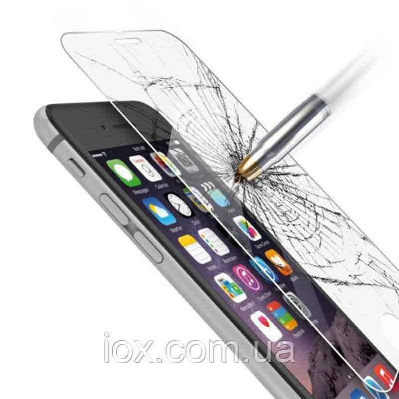 Защитное противоударное стекло на экран для смартфона Sony Experia Z1