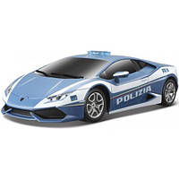 Игровая автомодель Lamborghini Huracan LP 610-4 Polizia со светом и звуком (синий), 1:24, Maisto 81723-1