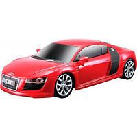 Игровая автомодель Audi R8 V10 со светом и звуком (красный), 1:24, Maisto 81225-1