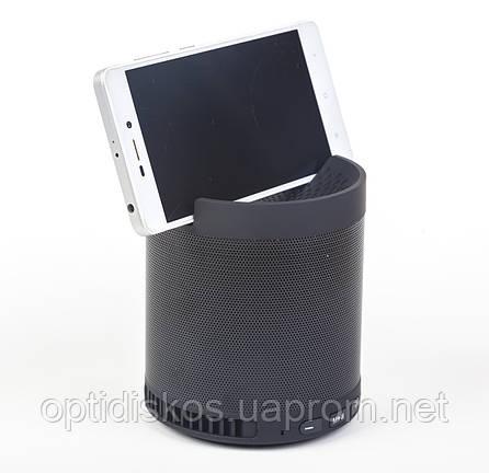 Bluetooth колонка c подставкой для телефона WS Q3 BT+MP3+FM, фото 2