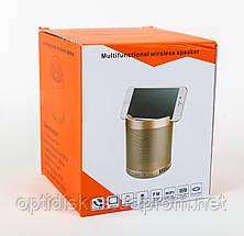 Bluetooth колонка c подставкой для телефона WS Q3 BT+MP3+FM, фото 3