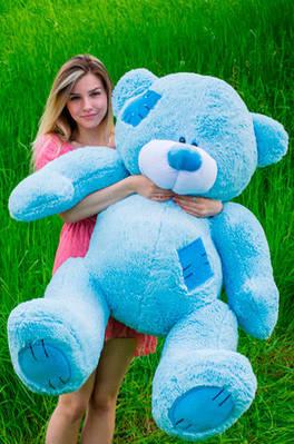 """Плюшевый мишка """"Тедди"""", голубой, 160 см."""