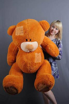 """Плюшевый мишка """"Тедди"""", карамельный, 160 см."""
