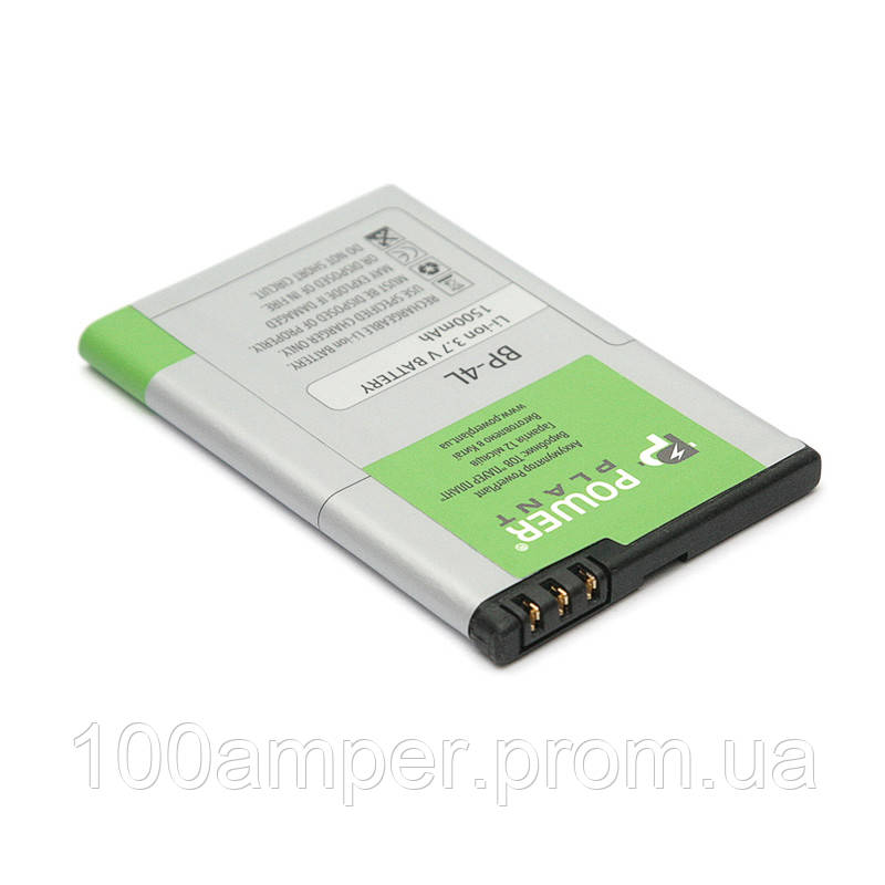 Аккумулятор PowerPlant Nokia 6760, E52 (BP-4L) 1500mAh
