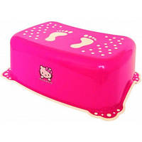 Подставка Hello Kitty с нескользящими резинками, розовая. Maltex
