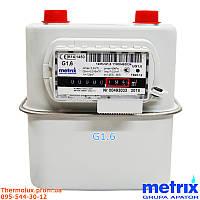 Газовый счетчик Metrix G1.6 (счетчик газа Метрикс UG G1.6) лічильник газу Метрікс (Польща)