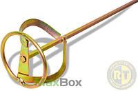 """Миксер-насадка для структурных красок тип """"A"""" 10-15 кг 80 мм Favorit 09-030"""