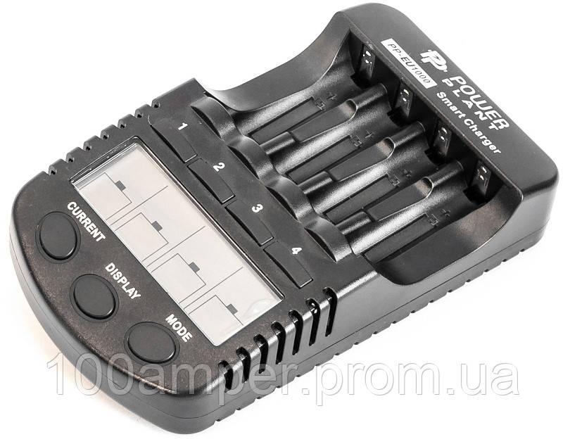 Зарядное устройство PowerPlant для аккумуляторов AA, AAA/ PP-EU1000
